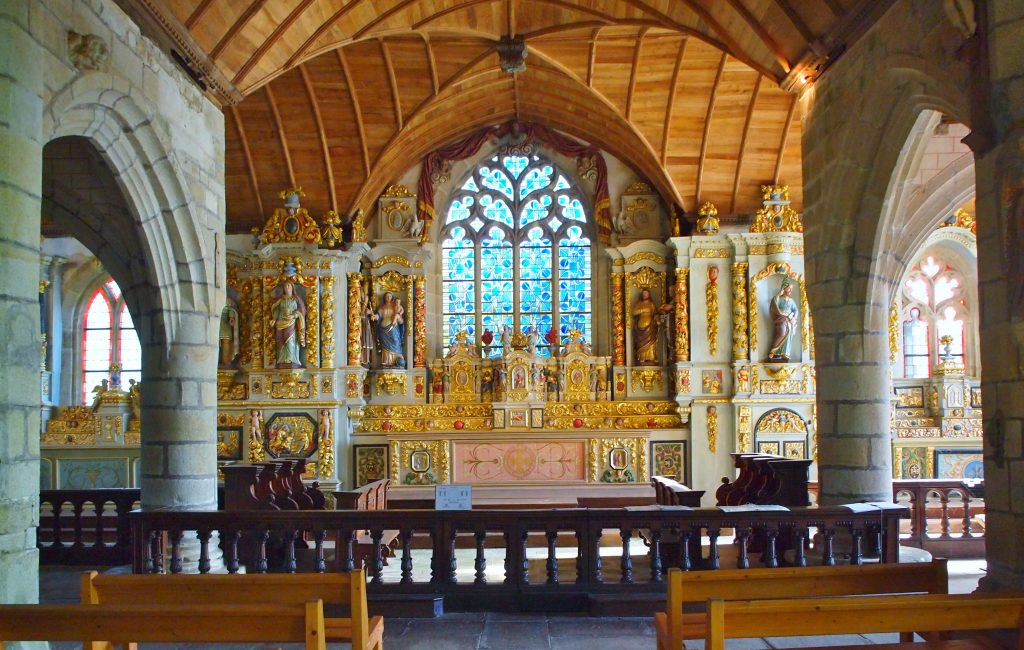 Chapelle Sainte Marie du Menez Hom - gite de Run Vraz